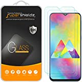 (2 Pack) Supershieldz for Samsung Galaxy M20 Tempered Glass Screen Protector, Anti Scratch, Bubble Free