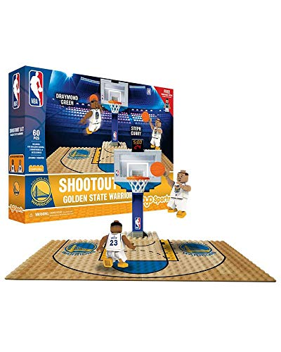 OYO NBA Golden State Warriors Display Blocks Shootout Set, Small, No Color from OYO