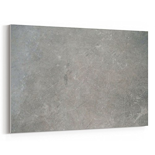 Westlake Art - Concrete Texture - 16x24 Canvas Print Wall Art - Canvas Stretched Gallery Wrap Modern Picture Photography Artwork - Ready to Hang 16x24 Inch