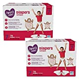Parent's Choice Diapers (Size 7, Count 78, Pack of 2)