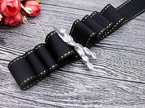 TD030-16 Double Side Saddle Stitch Grosgrain Ribbon5/8