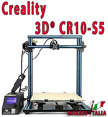 MAKERS ITALIA Novita Creality 3D® CR 10S5 Kit de Impresora 3D ...