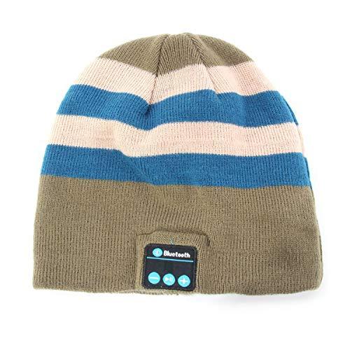 GordonKo Warm Wireless Smart Bluetooth Caps Beanie Hat Headphone Headset ()
