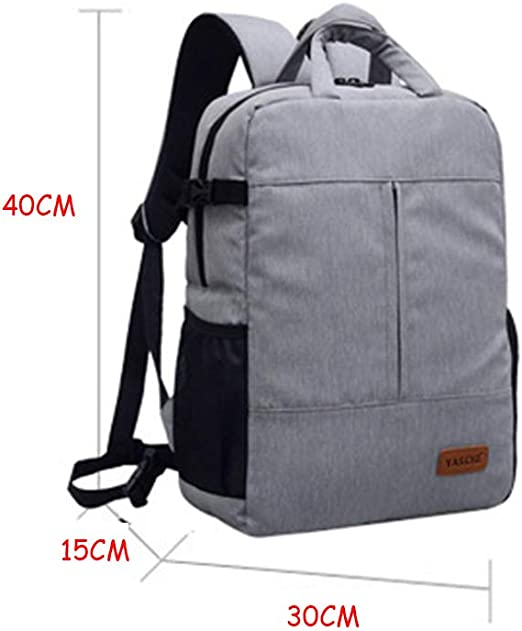 Large Capacity Shockproof Wear-Resistant Waterproof Anti-Theft Professional SLR Camera Shoulder Camera Bag LILINSS Digital Camera Backpack