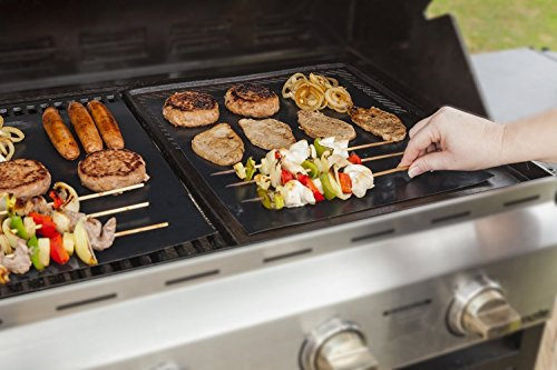 GardenHome-Outdoor-Heavy-Duty-Grill-Mat-Nonstick-BBQ-Grilling-Mats-1575-L-x-13-W-Set-of-2