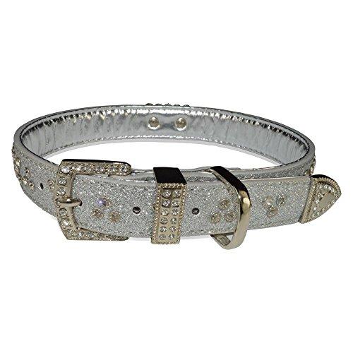 Signature Nameplate (Vanderpump Pets Signature Diamond Name Plate Leatherette Collar)