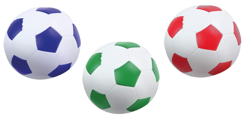 Lena- Flames N Games - Juego de Pelotas de fútbol (3 Unidades, 10 ...