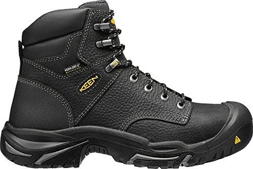 KEEN Utility Men's MT. Vernon Mid Industrial and Construction Shoe, Black, 11 D US (Shoes Men Slip Non Keen)