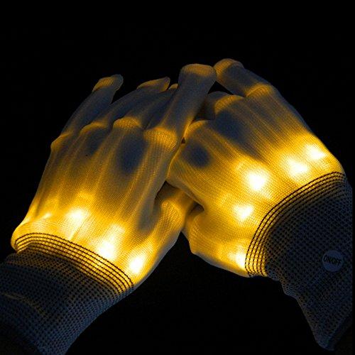Led Dancing Skeleton Gloves for Kids Halloween Party Dance -