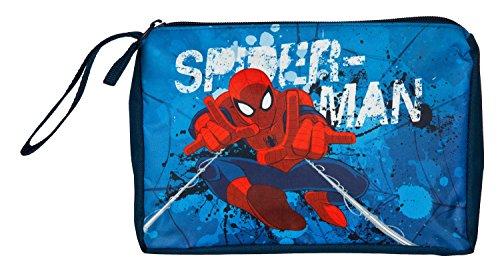 Undercover Kulturtasche Spiderman, circa 17 x 23 x 5 cm, 2 Liter, Blau