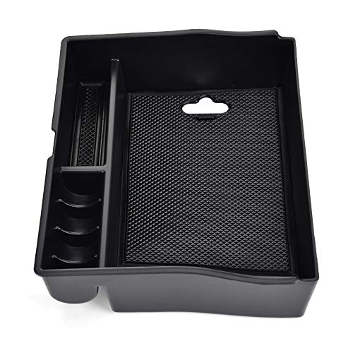 Fontic Deal Car Center Console Armrest Secondary Storage Box Glove Box for Toyota Sienna ()