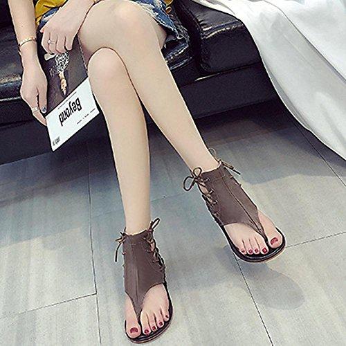Marr Color Vestir para Chaufly Sandalias Mujer de FqYYwS