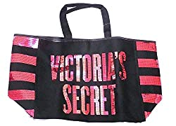 Bling Sequin Stripe City Tote