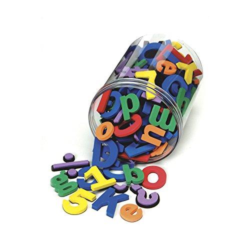 Chenille Kraft 4357 Wonderfoam Magnetic Alphabet Letters, Assorted Colors. 110/Pack (Magnetic Plastic Letters)