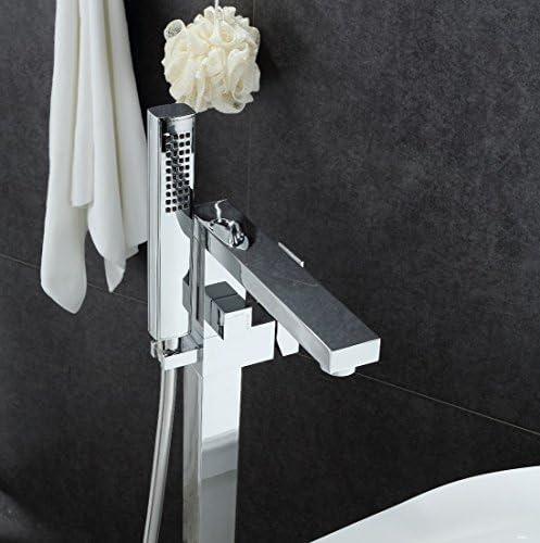 Grifo monomando sobre SUELO bañera/ducha MENTO para bañera exenta ...
