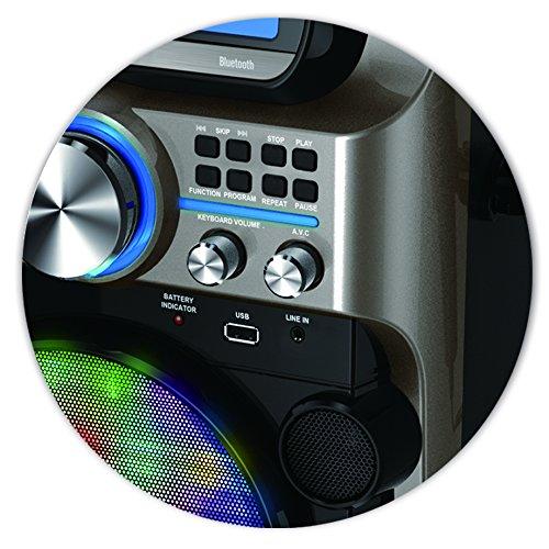 Akai KS838-BT The Ultimate Bluetooth Party Machine, 7'' by Akai (Image #6)