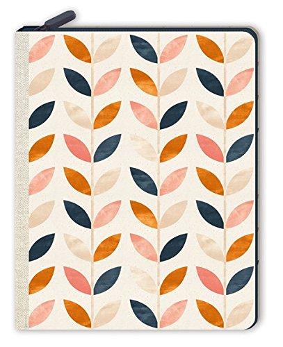Notizbuch mit Reißverschluss - Blätterrauschen (monbijou)