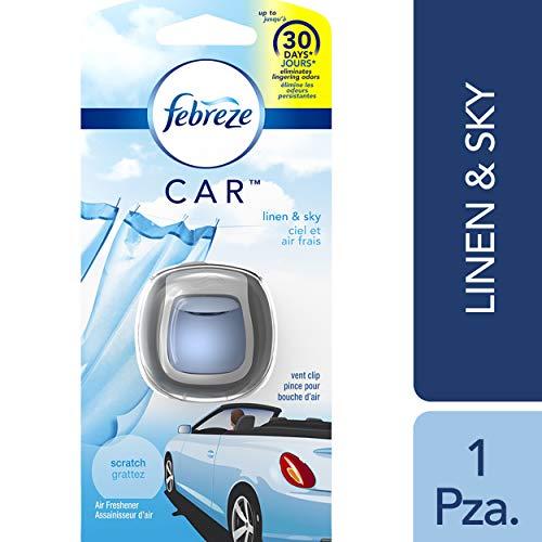 (Febreze Car Vent Clips Air Freshener and Odor Eliminator Pack)