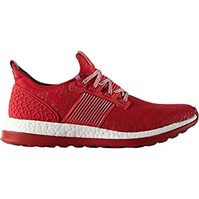 adidas Performance Men's Pureboost ZG M Running Shoe, Scarlet/Light  Scarlet/White,