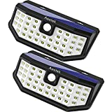 New Upgraded 36 LED Solar Lights with Wide Angle Illumination,Outdoor Motion Sensor Waterproof Wall...