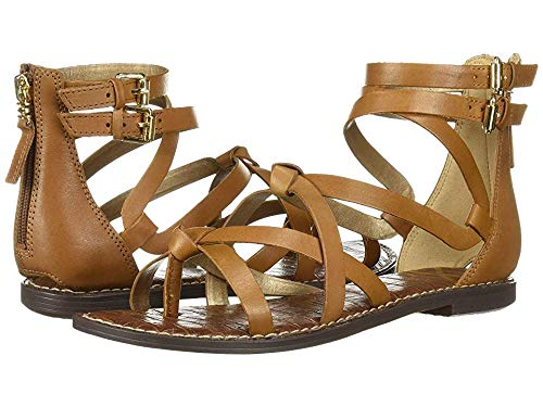 Sam Edelman Women's Gaton Sandal, Saddle Leather, 9.5 M US