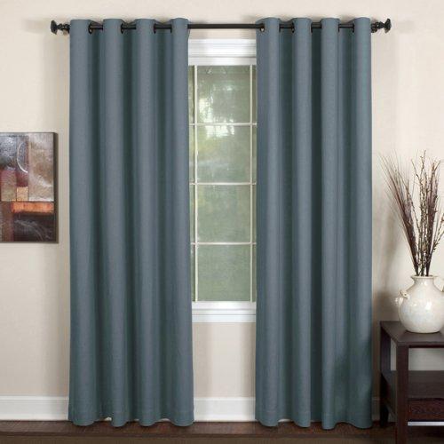 (Elrene Home Fashions Essex Window Panels (Blue) - 50