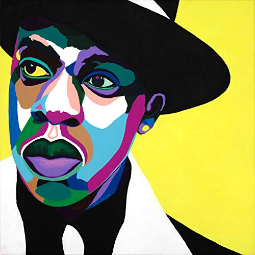 Vakseen Art - Brooklyn's Finest - Jay-Z portrait art - Limited Edition Giclee Print & Framed Pop Art for Wall Decor