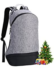 REYLEO Backpack School Bookbag Fits 15.6 Laptop Water Resistant Casual Daypack for College Business Work Travel...