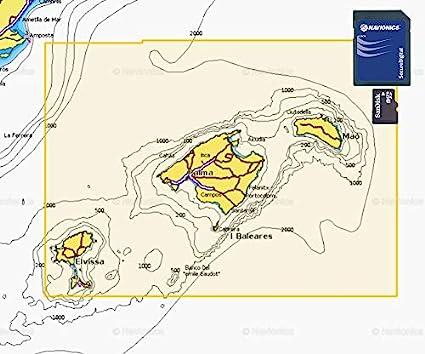 Navionics Plus Small MicroSD/SD Mallorca y Menorca: Amazon.es ...