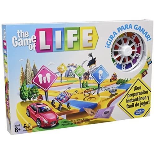 On Sale Hasbro Gaming Juego En Familia Game Of Life 04000546