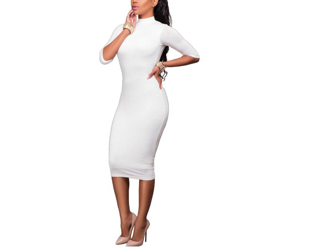 Carolina Dress Vestidos Ropa De Moda 2018 Para Mujer De Fiesta y Noche Elegantes NM0035 at Amazon Womens Clothing store: