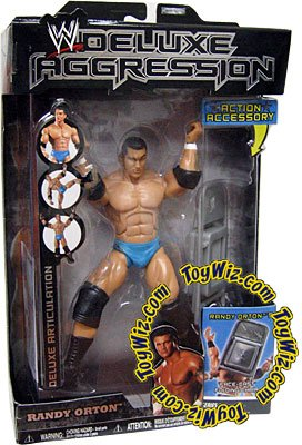 Jakks Pacific WWE Wrestling Deluxe Aggression Series 1 Randy Orton Action Figure