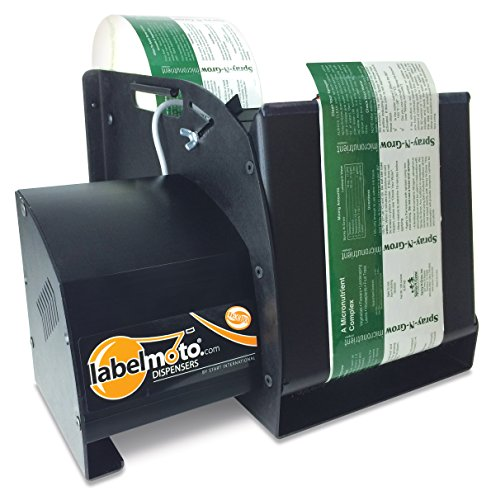START International LDX8100 Super-Speed Electric Label Dispenser for Up to 8'' Wide and 12'' Long Labels, Black by START International
