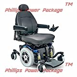 Pride Mobility - Jazzy 614 HD - Heavy Duty Power Chair - Viper Blue - PHILLIPS POWER PACKAGE TM - TO $500 VALUE