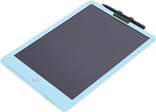電子描画ボード10インチライティングパッドLCDライティングパッドワンクリッククリア環境保護子供向け学習手書き教育(blue)