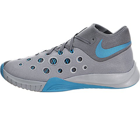 sports shoes f6b9c cc7ea Galleon - Nike Zoom Hyperquickness 2015 Men s Basketball Shoes 749882-040 Wolf  Grey 9 M US