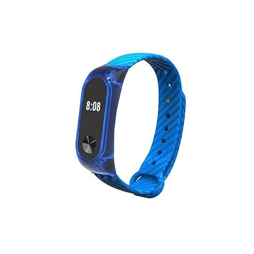 Correas para xiaomi Band 2 Lanskirt Correa de Reloj Xiaomi Mi Band 2 Smartwatch Pulsera de