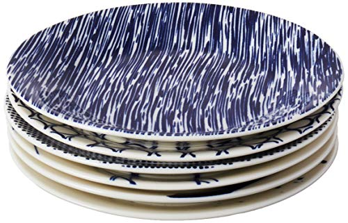 (Royal Doulton Pacific Tapas Plates, 6.3-Inch, Blue, Set of 6)