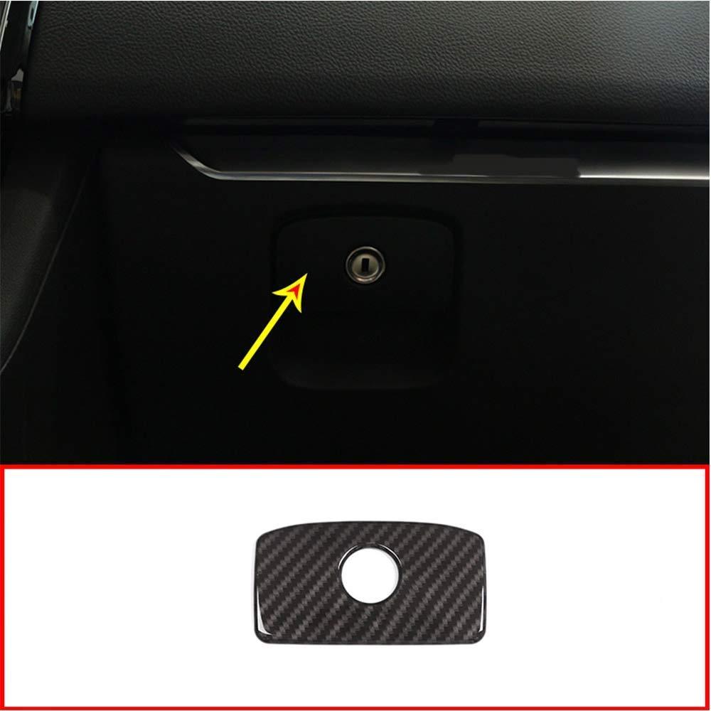 Bandes de Gant en Plastique ABS pour Garniture pour Style Fibre de Carbone XE XF F-Pace X761 Auto-broy