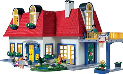 Plan maison moderne playmobil 2007 - Plan maison de campagne playmobil ...