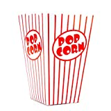 Bekith Open-Top Popcorn Box, 100/Case