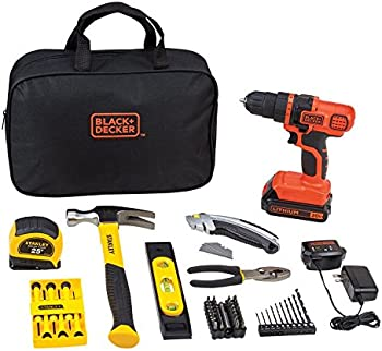 Black+Decker Stanley 70 pc. Cordless Drill/Driver Kit