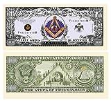 Freemason - Masonic Million Dollar Bill - Set of 500