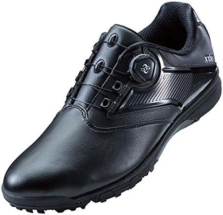 ゲルタスク 2 ボア ゴルフシューズ TGN921 9090 ブラック/ブラック 25.0cm