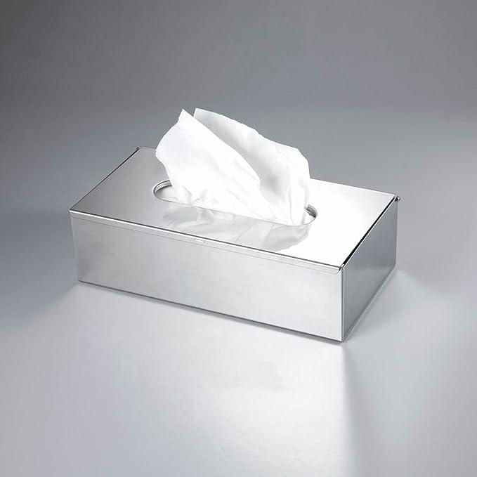 Caja de pañuelos de CROWNSTARQI, para guardar servilletas, pañuelos desechables, accesorio de baño: Amazon.es: Hogar