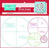 (US) Christensen Wholesale Combine into 0491531 Lori Holt Circle Ruler Kit 9in 6in 4