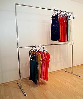 Offener kleiderschrank stange  Kleiderständer Kleiderstange Garderobenständer begehbarer ...