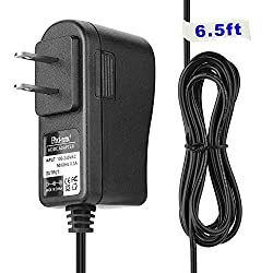 EPtech(6.5Ft Extra Long) AC Power Supply Adapter Cord for La Crosse C85183 Multi-Color Atomic Alarm Clock