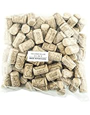 100 Corks in a Bag- Made in Portugal (38 x 22#8 Short, Agglomerated Deluxe)
