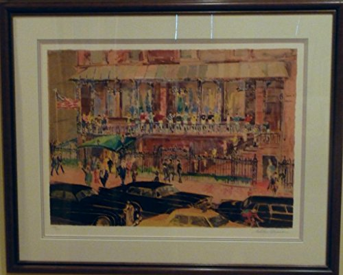 21 Club by LeRoy Neiman